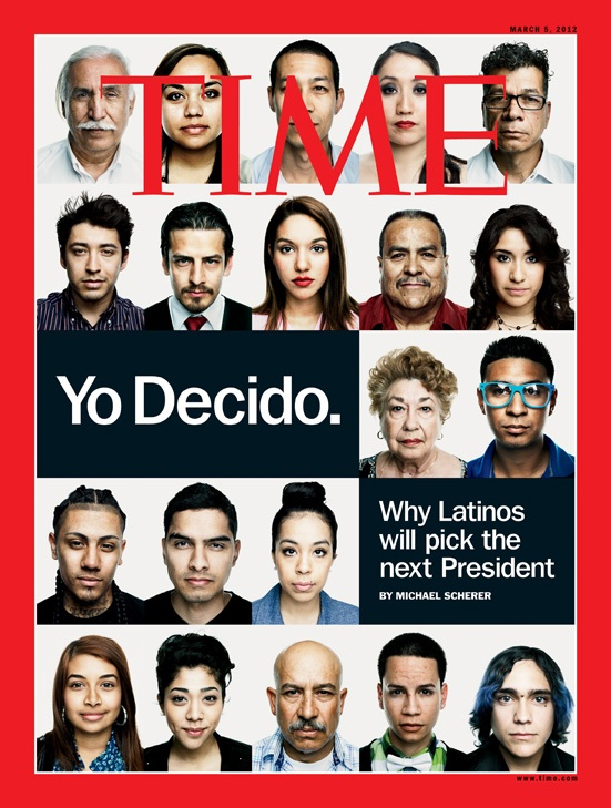 Time magazine Yo decido latino cover