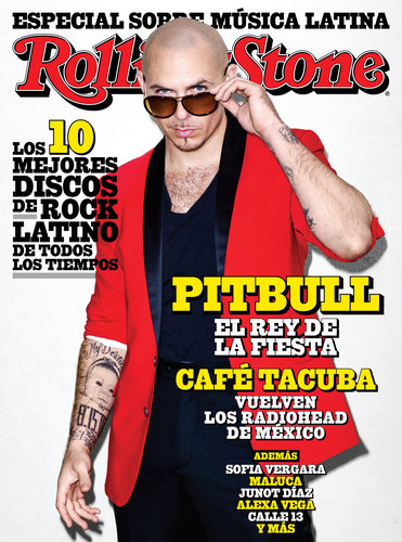 Pitbull Rolling Stone cover